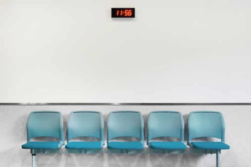 Empty Waiting Room Chairs