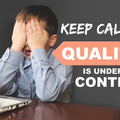 Quality control website tips