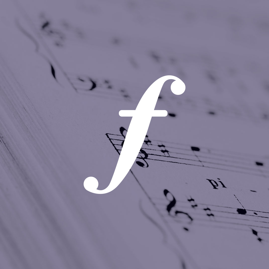 nine10 logo design Frequency Hearing forte shape