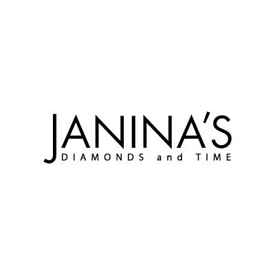Janina's Diamonds and Time Logo