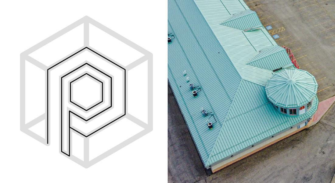 nine10 portfolio project prairie plaza logo comparison