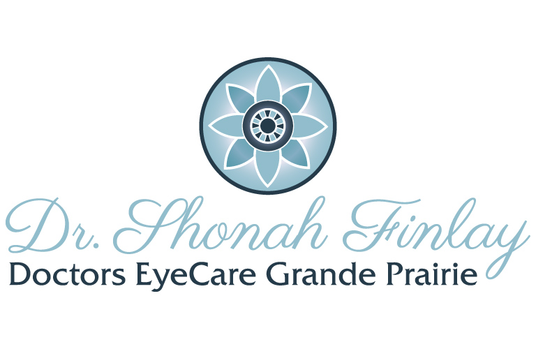 Brand and Logo Created for Dr. Shonah Finlay at Doctors EyeCare Grande Prairie