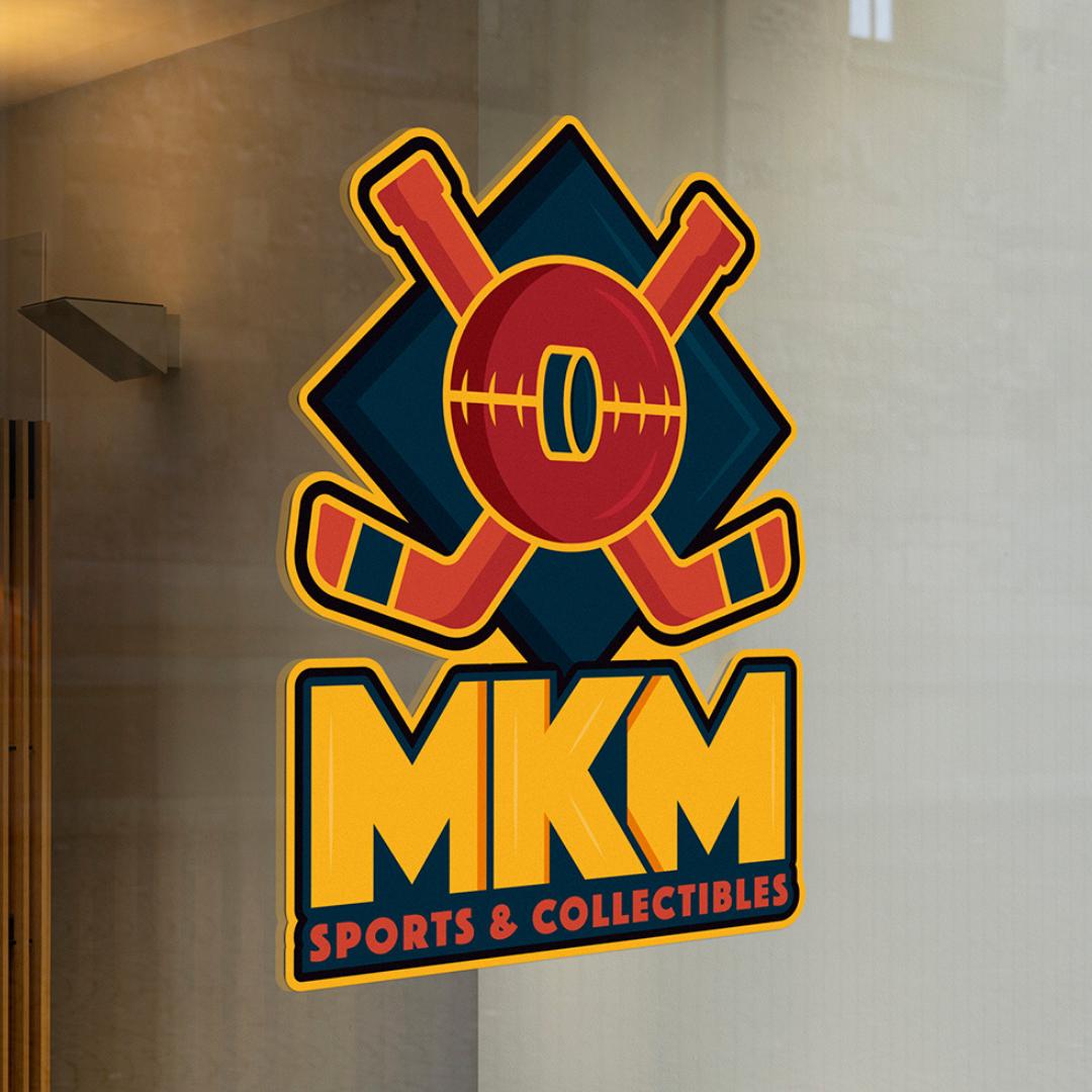 Logo on a Store Window
