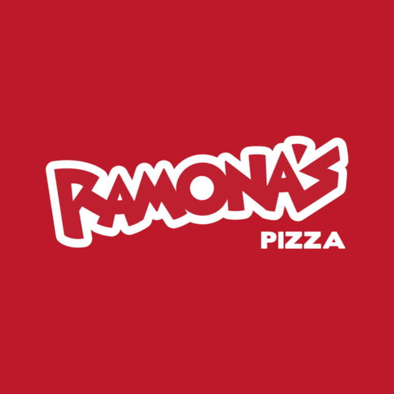 Ramona's Pizza Logo & Website Design by nine10