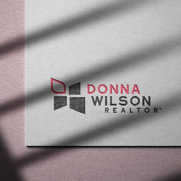 Donna Wilson - Logo & Website Design by nine10