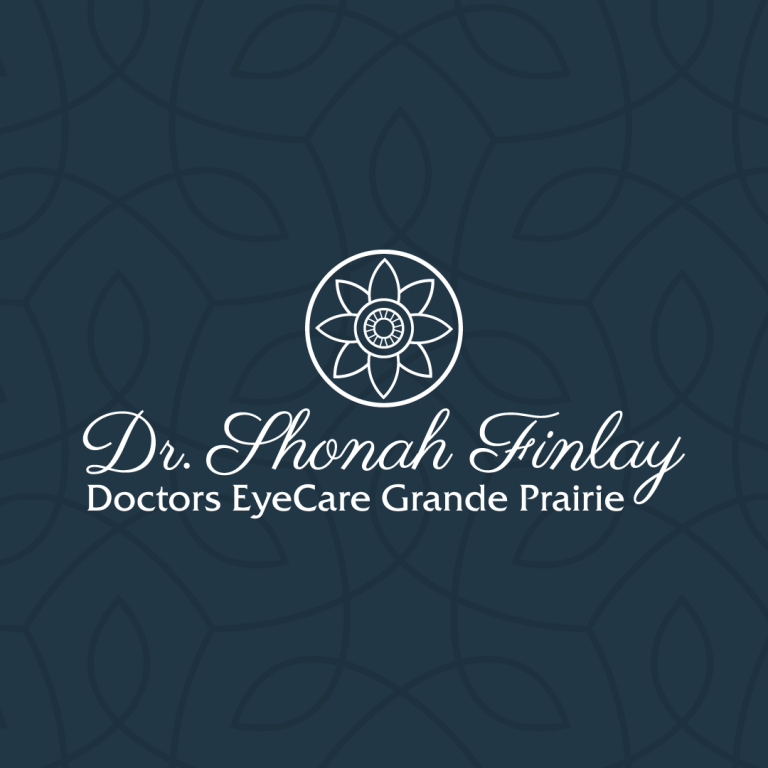 Brand and Logo Layout Created for Dr. Shonah Finlay at Doctors EyeCare Grande Prairie